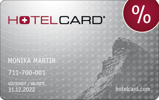 Hotelcard great Hotel discounts