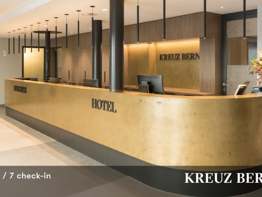 Kreuz Bern Modern City Hotel 0