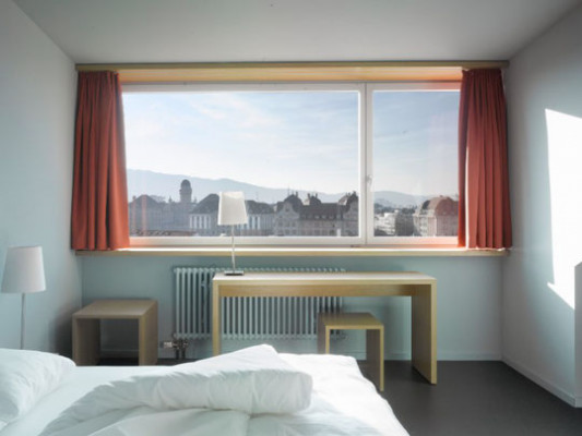 Hotel Marta Double room overlooking the Old Town of Zurich 0