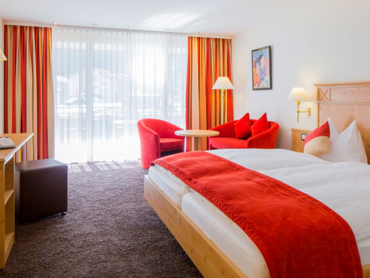 Modern Rooms by Täscherhof Chambre double moderne avec balcon 0