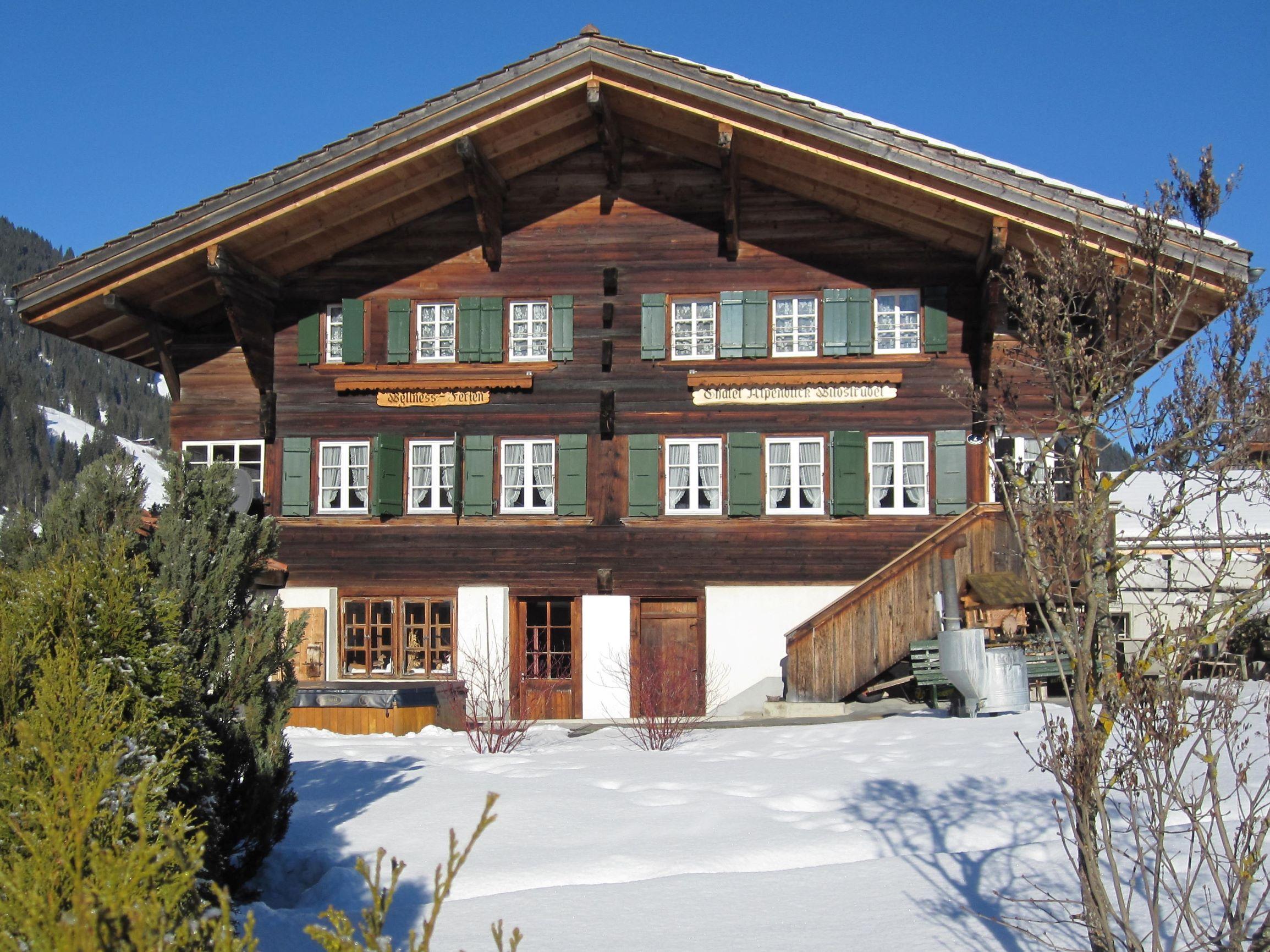 Chalet-Hotel Alpenblick Wildstrubel 0