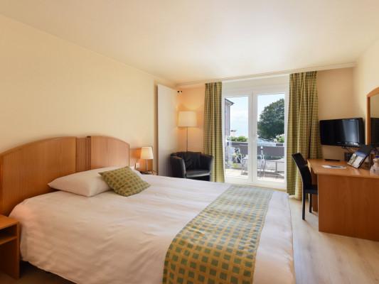 Hôtel du Léman Doppelzimmer mit Seeblick 0