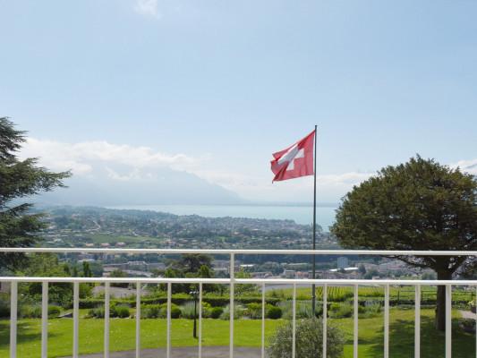 Hôtel du Léman Chambre double vue sur lac 3