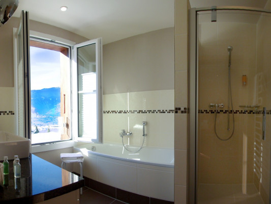 Romantik Hotel Schweizerhof / Swiss Alp Resort & SPA Double room North side 1
